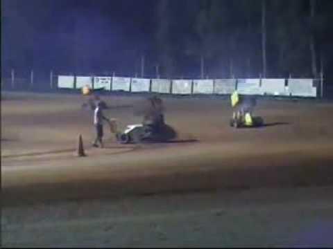 Wilson motorsports track Heat 1 4-28-07
