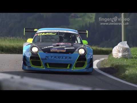 Watch This Porsche 911 GT3-R Go Flat Out Up a Tight Hillclimb Course