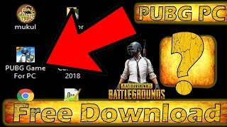 PUBG PC Game Free Download For Windows 7/8/10 Without Graphics Card