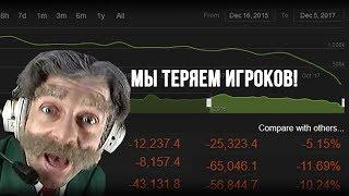 DOTA 2 ТЕРЯЕТ ИГРОКОВ