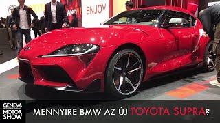 Mennyire BMW az új Toyota Supra? - Genf 2019
