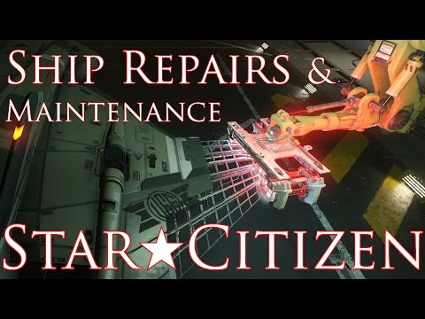 STAR CITIZEN ★ SHIP REPAIR AND MAINTENANCE