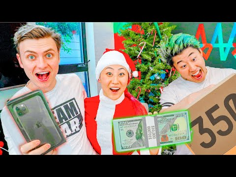 SURPRISING FRIENDS WITH $10,000 PRESENTS!!