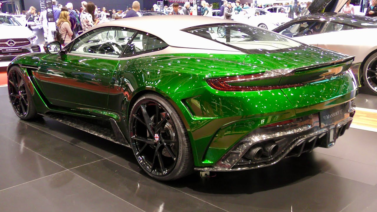 green mansory cyrus with carbon touches based on the aston martin