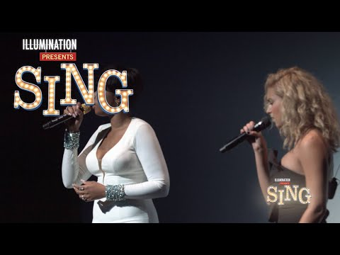 "Jennifer Hudson & Tori Kelly  Perform ""Hallelujah"" - Sing Pr"