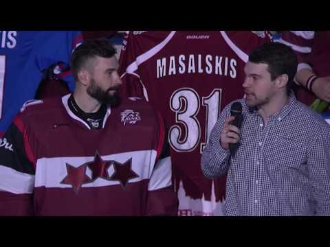 Edgars Masaļskis atvadās no Latvijas hokeja izlases