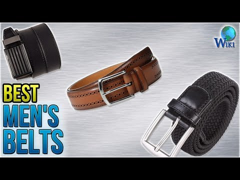 10 Best Men's Belts 2018