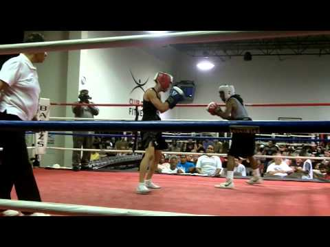 First amateur boxing match.