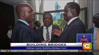 Odinga meets 'Handshake Team'