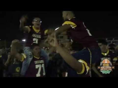 Harlandale High School Frontier Bowl Pep Rally