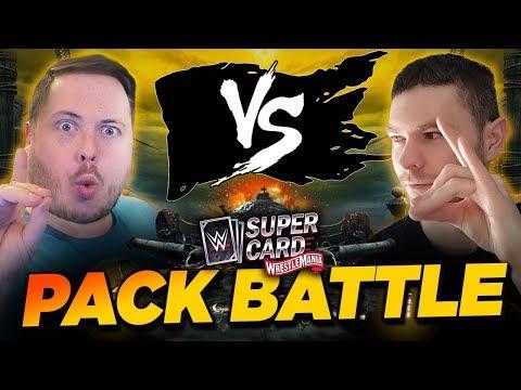 WRESTLEMANIA 36 TIER PACK BATTLE!! AMAZING LUCK!   WWE SuperCard S6