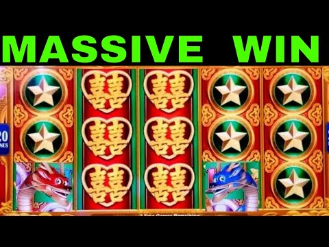 Dragon's Law Twin Fever Slot Machine 🏆MASSIVE WIN🏆Better Than 💥HANDPAY JACKPOT💥MEGA BIG WIN - 동영상