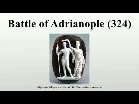 Battle of Adrianople (324)