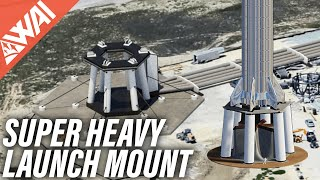 115 | How To Construct A SpaceX Starship Launch Mount?