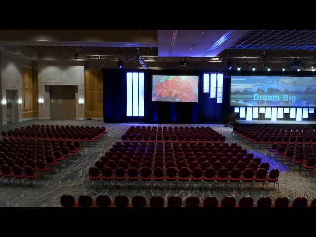 Rosen Shingle Creek Panzacola Ballroom Theater Set