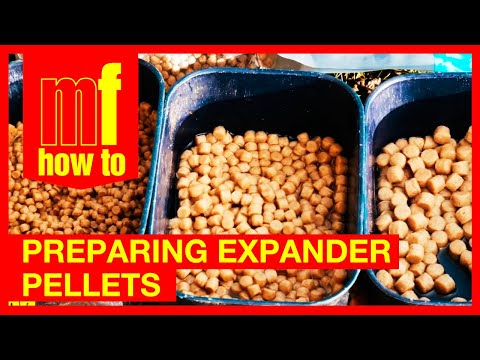 Preparing expander Pellets - Match Fishing