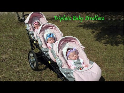 Triplets Baby Strollers █▬█ █ ▀█▀ New Collection Baby Doll Prams / Walking / Pushchairs