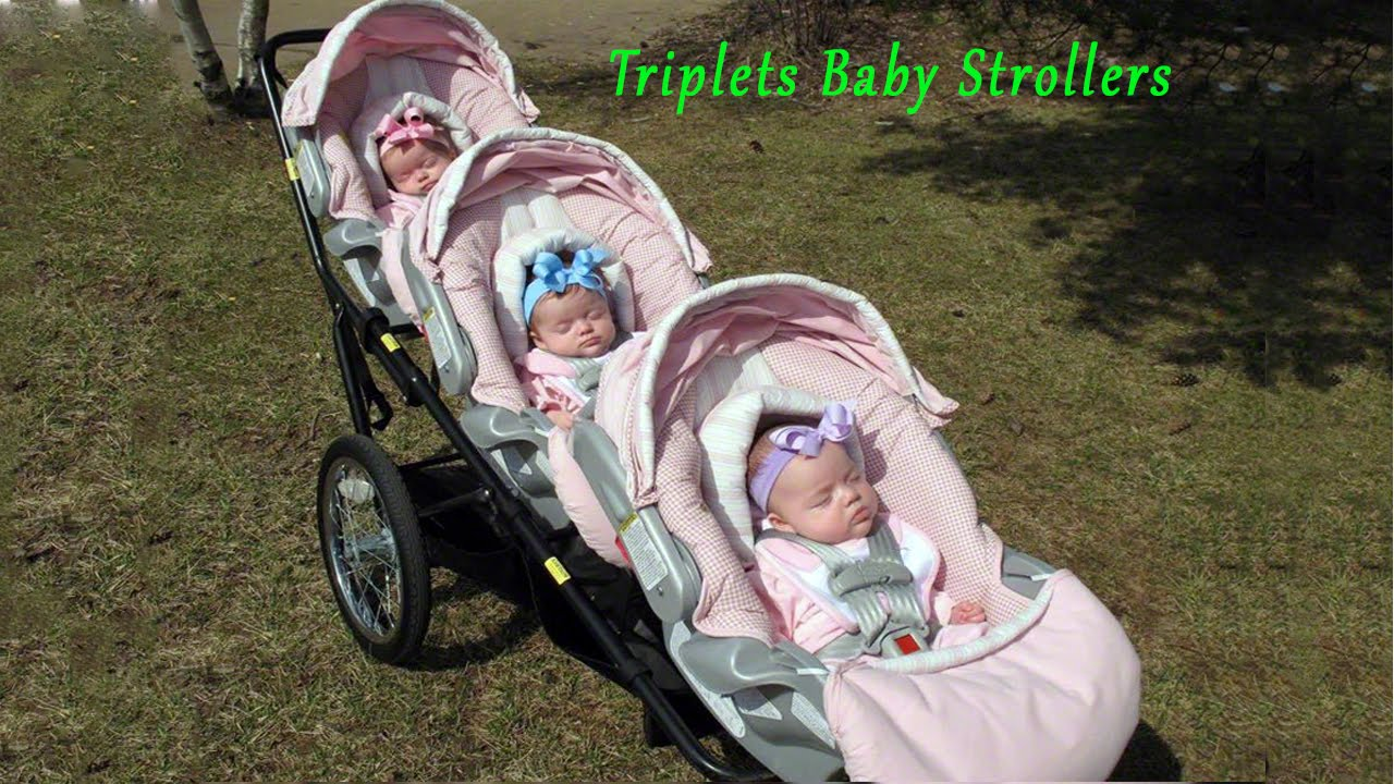 Baby Pram Double Triplets Baby Strollers New Collection Baby Doll Prams