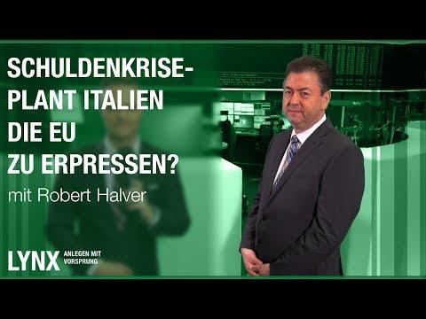 Schuldenkrise- Plant Italien, die EU zu erpressen? - Interview mit Robert Halver