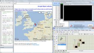 How to track the vehicle position using GSM and GPS on Google Map