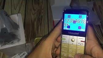 Điện thoại MASSTEL FamiS  cho người già giá rẻ, tặng kèm DOCK sạc