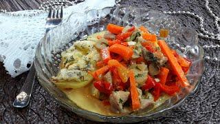 Свинина с Овощами В Мультиварке Нежное и Ароматное Блюдо