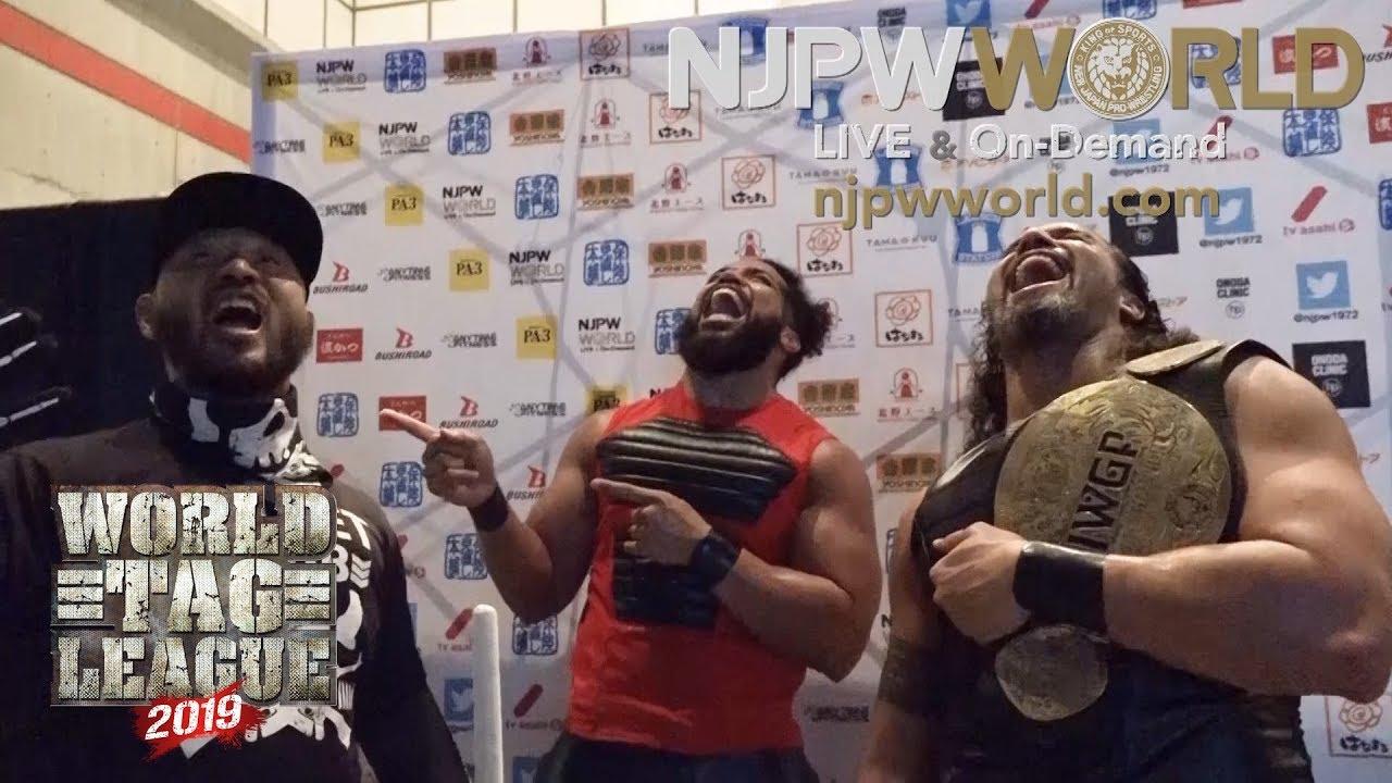 Resultado de imagem para njpw world tag league 2019 day 12