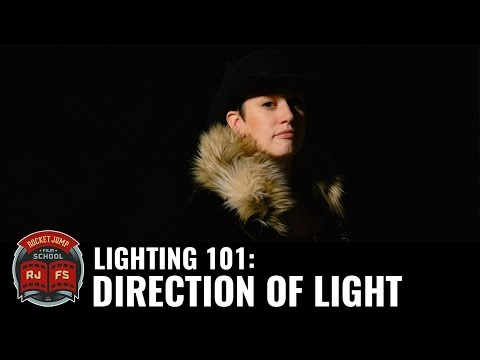 Lighting 101: Direction of Light