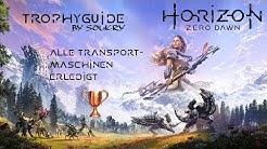 Horizon Zero Dawn Trophyguide (PS4) [Deutsch] - Bronze - Alle Transportmaschinen erledigt