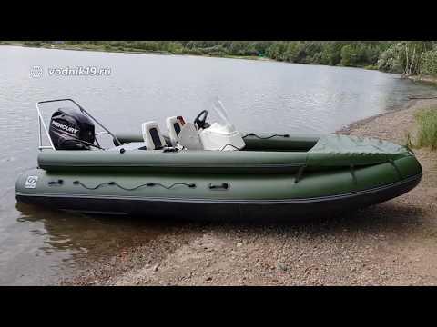 Фрегат 480 + Mercury 40 Jet - водометная лодка │ стихия воды абакан │ тюнинг лодок пвх
