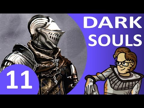 Let's Play Dark Souls Part 11 - Chaos Witch Quelaag Boss, Blighttown, Summon Maneater Mildred