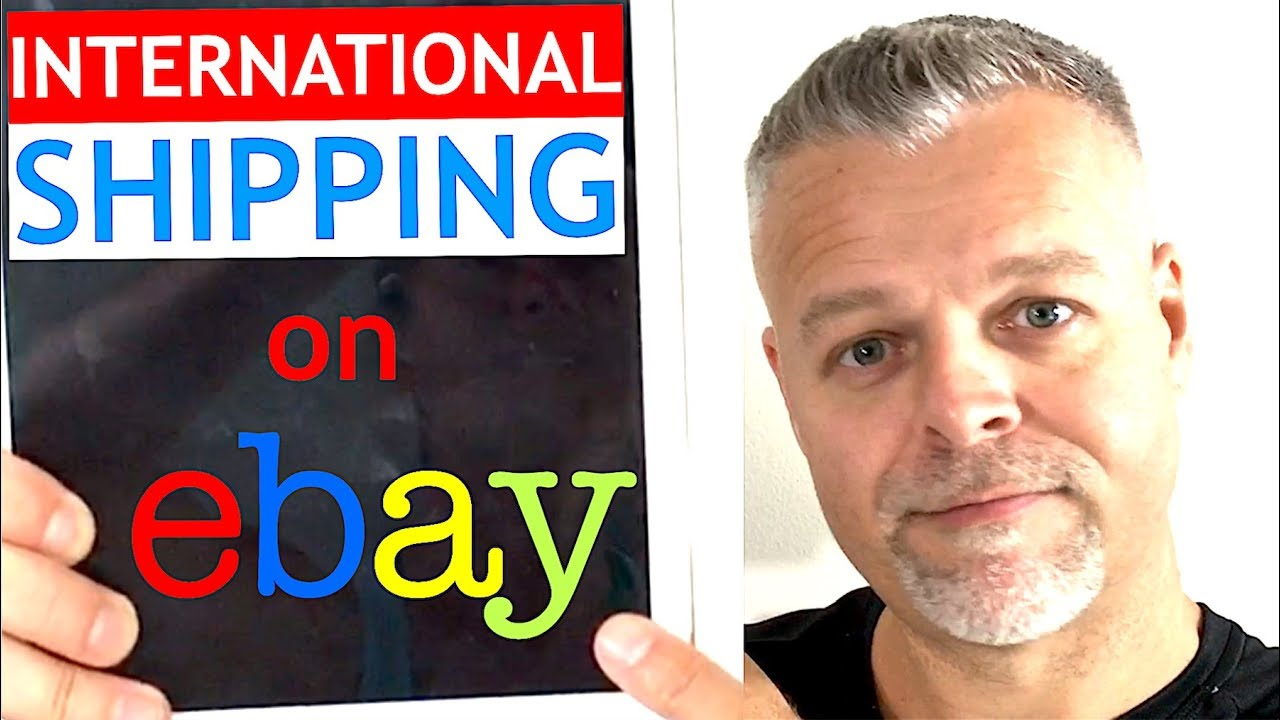 How to Ship on eBay for Beginners ~ INTERNATIONAL Shipping on  eBay TUTORIAL ~ Selling on eBay