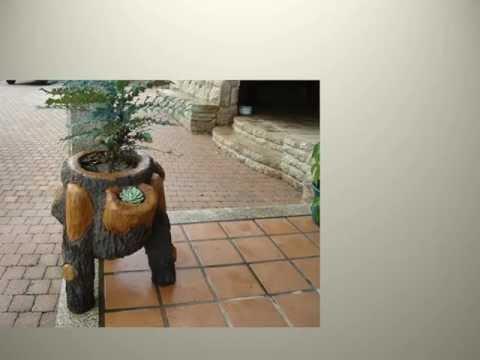 Maceteros y mobiliario de jard n hecho a mano en for Mobiliario de jardin de madera