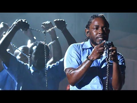 Kendrick Lamar's Inspiring Grammy Performance