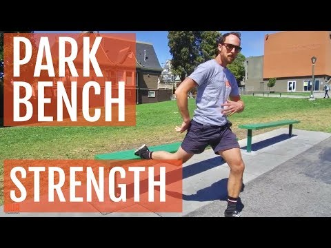 Wicked Hard Park Bench Workout For Runners