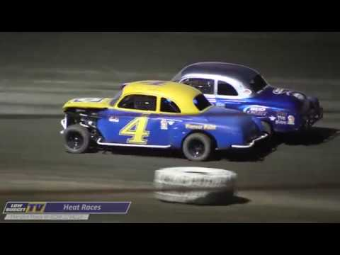 Heat Races: The Dirt Track at Kern County Raceway 7/29/17