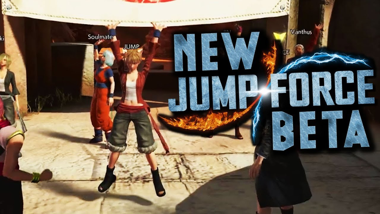 JUMP FORCE OPEN BETA What Will Change?