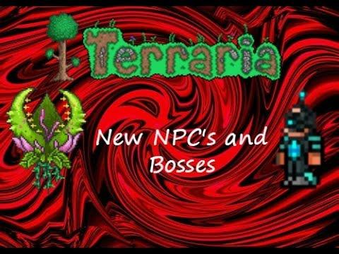 Terraria 1.2 (ios) New NPC's and Bosses!