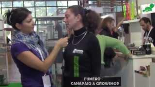 Intervista a Cristina di Fumerò - Canapa in Mostra 2014 Napoli