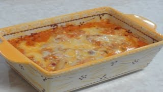 Pasta Casserole With Tofu - Video Recipe - A Perfect Dinner For Two