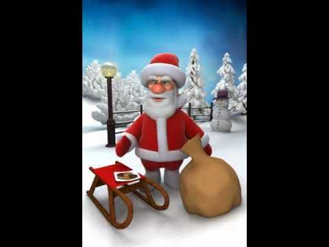 Talking Tom Steals Santa's Milk