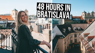 First Thoughts on Slovakia | We Spent 48 Hours in Bratislava