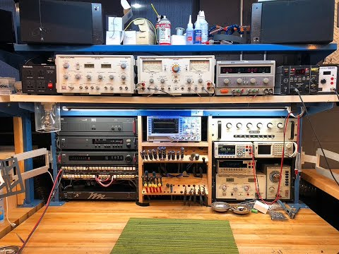 Our Audio Electronics Test Bench - Where The Magic Happens...