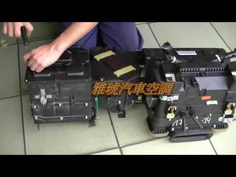 Замена радиатора кондиционера W210
