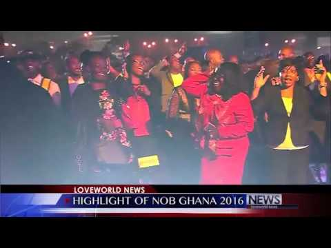 Eben's Victory Song with Pastor Chris at Night of Bliss Ghana   YouTube