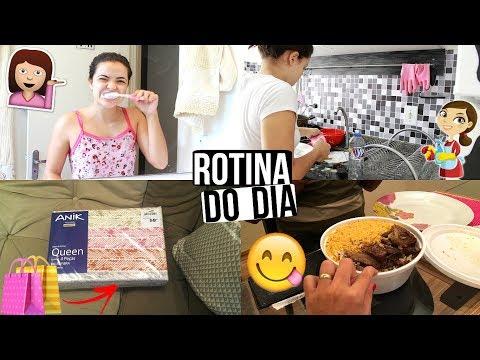 ROTINA DA MANHÃ, CENTRO, DENTISTA, COMPRINHAS PRA CASA ♥ - Bruna Paula