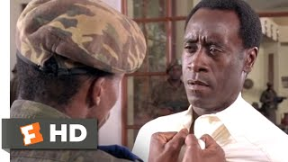 Hotel Rwanda (2004) - The Hutu Leave Scene (8/13) | Movieclips