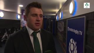 Irish Rugby TV: CJ Stander - Scotland v Ireland Post-Match Reaction