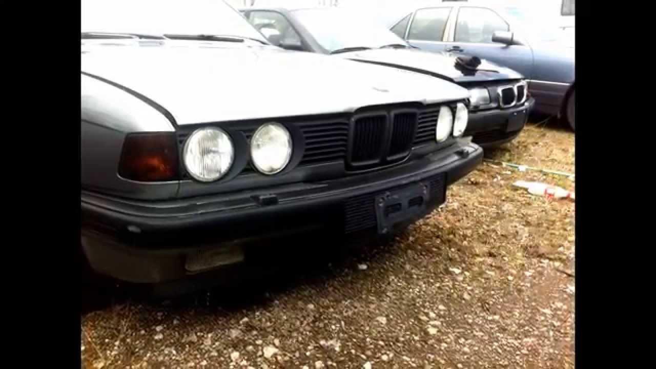 1986 bmw 735i parts