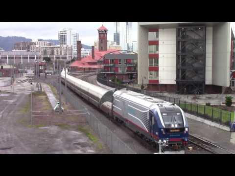 HD IDOT 4611 (SC-44 Charger) On Cascades Test Train - Portland, Oregon
